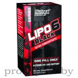 Nutrex Lipo 6 Black Ultra Concentrat (60 капс)