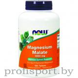NOW Magnesium 1000 mg (180 таб)