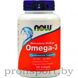 Now Foods Omega 3 1000 mg (100 капс)